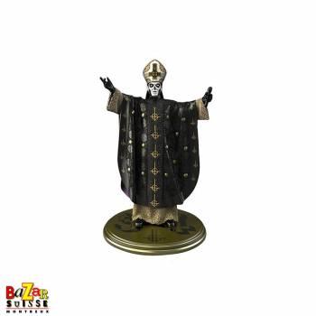 Ghost Papa Emeritus III - figurine Rock Iconz de Knucklebonz