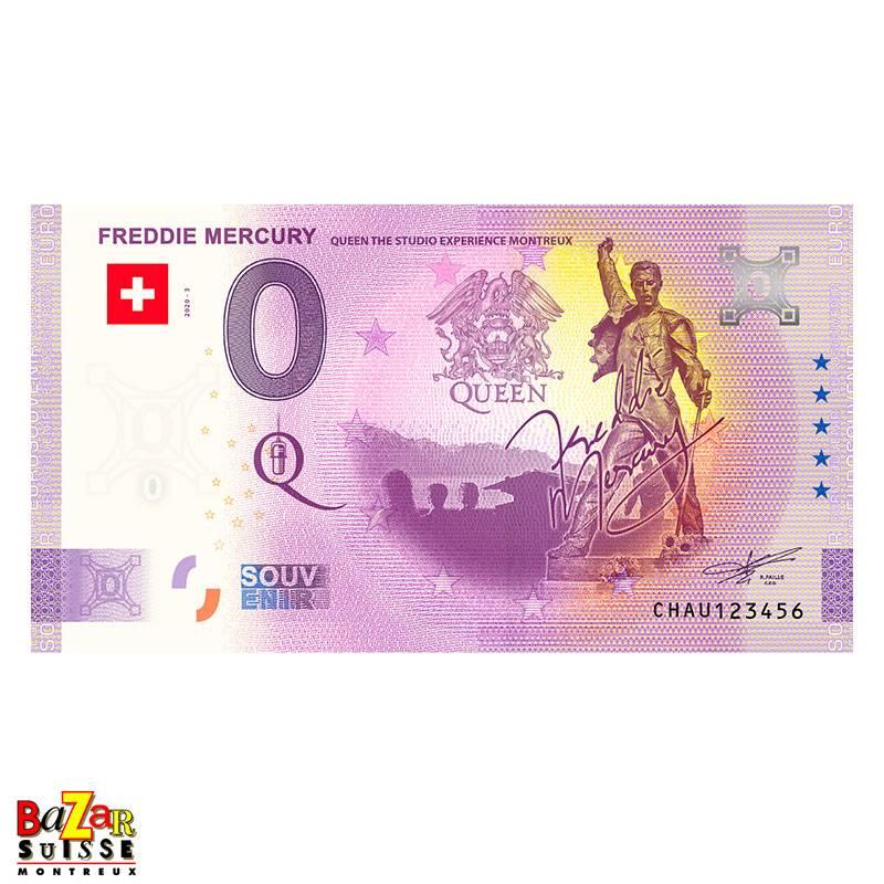 Tourist ticket 2021 - Freddie Mercury - Montreux
