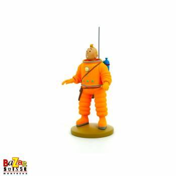 Figurine Tintin cosmonaute