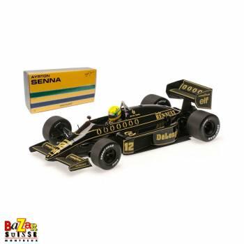 LOTUS RENAULT 98T Ayrton Senna 1986 1:18 de Minichamps