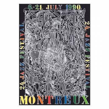 Poster Montreux Jazz Festival 1990
