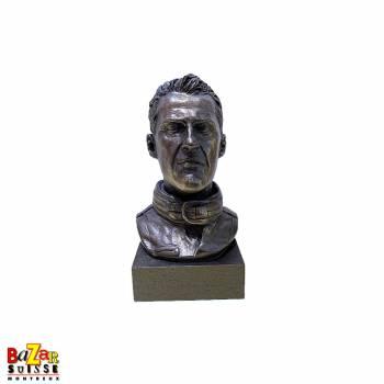 Bronze bust Michael Schumacher