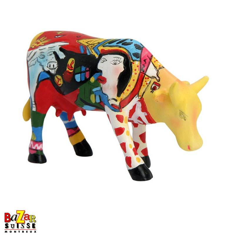 """Cow """"Hommage to Picowso's African Period"""""""