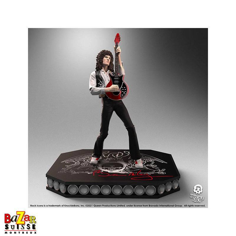 Brian May - Queen - figurine Rock Iconz from Knucklebonz
