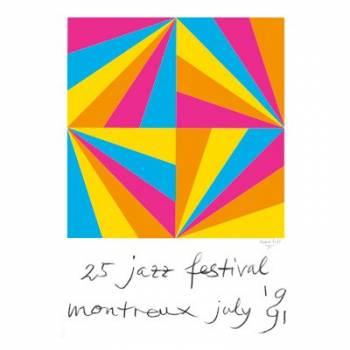 Poster Montreux Jazz Festival 1991