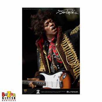 Jimi Hendrix - figurine articulée
