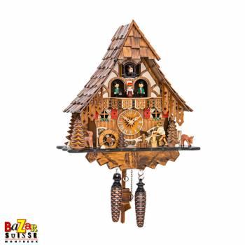 Quartz cuckoo-clock - wood...