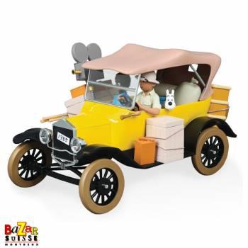 La voiture Jaune - Tintin au Congo