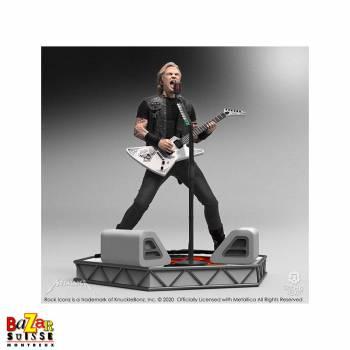 James Hetfield (Metallica) - figurine Rock Iconz from Knucklebonz
