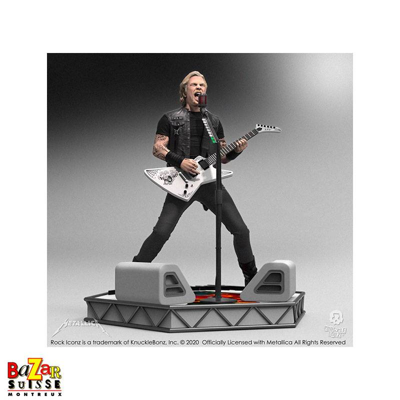 James Hetfield (Metallica) - figurine Rock Iconz de Knucklebonz