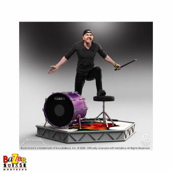 Lars Ulrich (Metallica) - figurine Rock Iconz de Knucklebonz