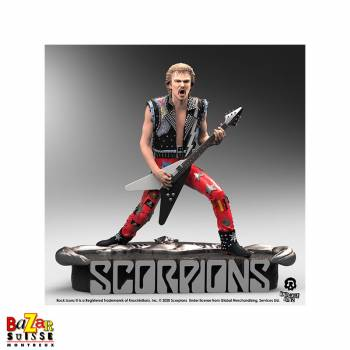 Rudolf Schenker (Scorpions) - figurine Rock Iconz from Knucklebonz