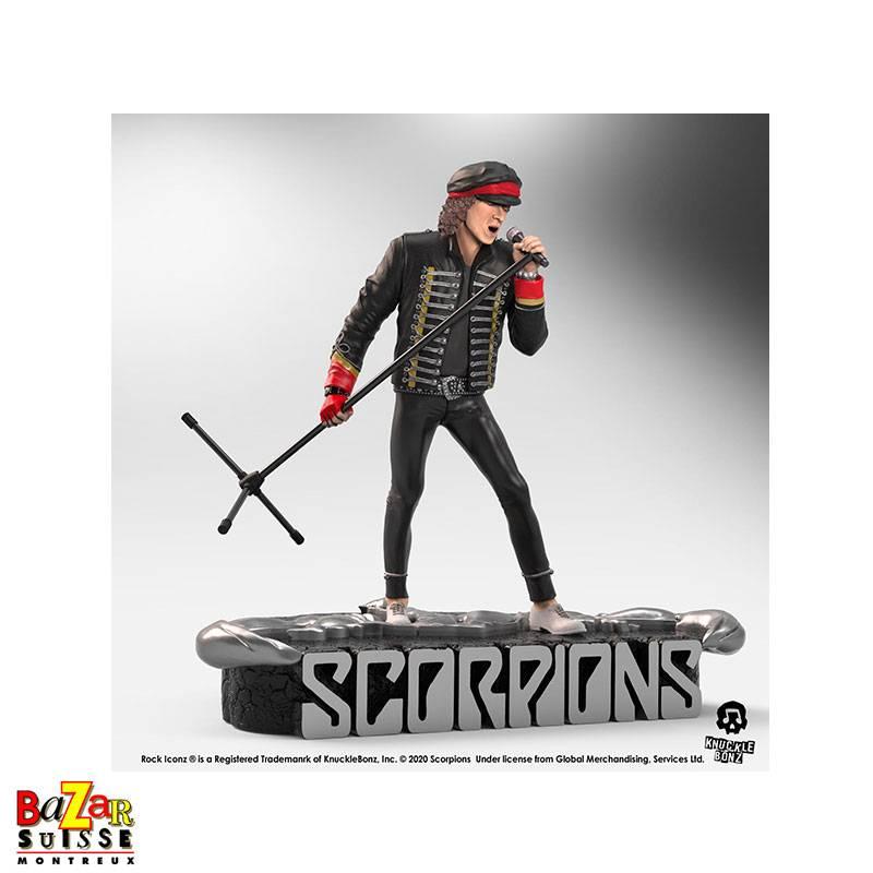 Klaus Meine (Scorpions) - figurine Rock Iconz de Knucklebonz