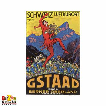 Poster Gstaad