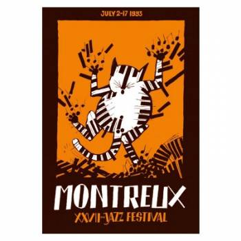 Poster Montreux Jazz Festival 1993