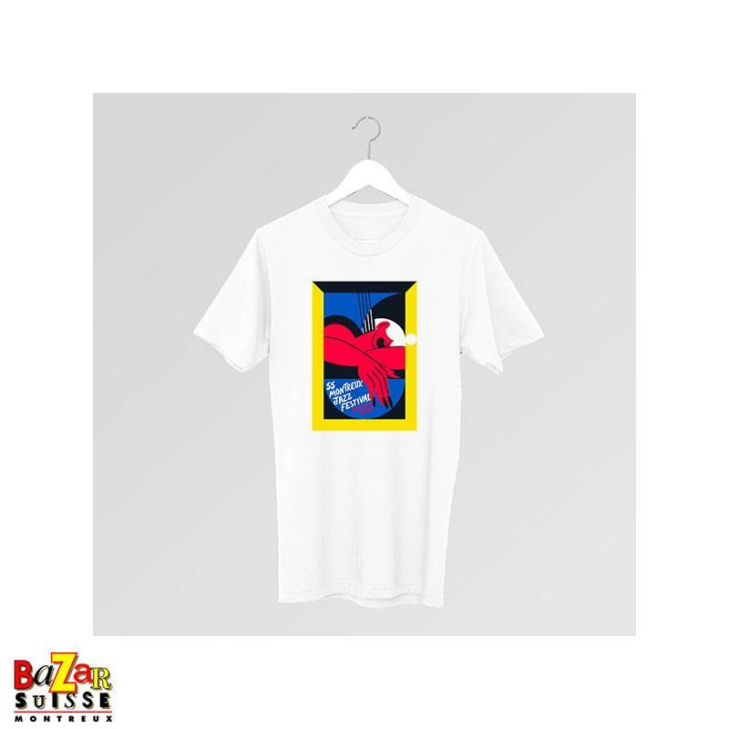 Official 2021 Montreux Jazz Festival T-shirt