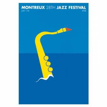 Poster Montreux Jazz Festival 1994