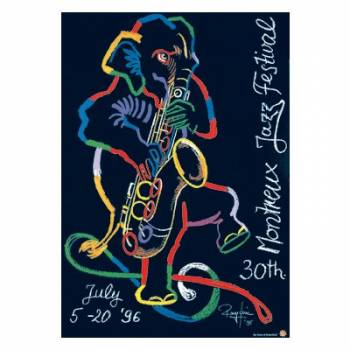 Poster Montreux Jazz Festival 1996