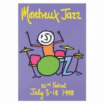 Poster Montreux Jazz Festival 1998