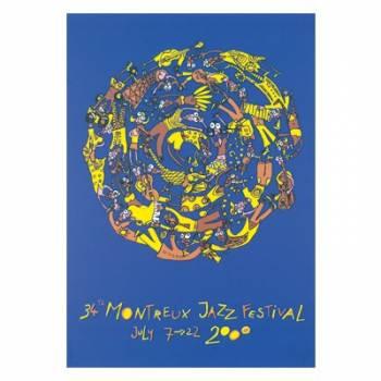 Poster Montreux Jazz Festival 1999