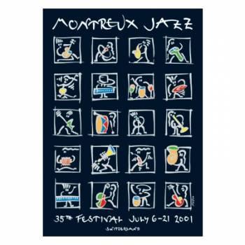 Poster Montreux Jazz Festival 2001