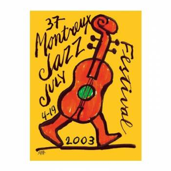 Poster Montreux Jazz Festival 2003