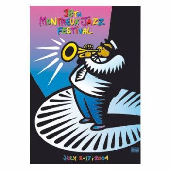 Poster Montreux Jazz Festival 2004