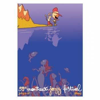 Poster Montreux Jazz Festival 2005