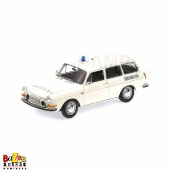 VW 1600 L Variant Polizei 1972 car 1:18 by Minichamps