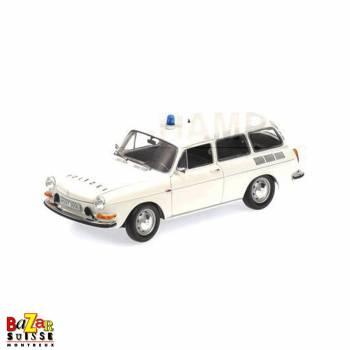 VW 1600 L Variant Polizei 1972 voiture 1:18 de Minichamps