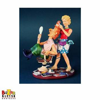 The hairdresser - figurine Profisti small