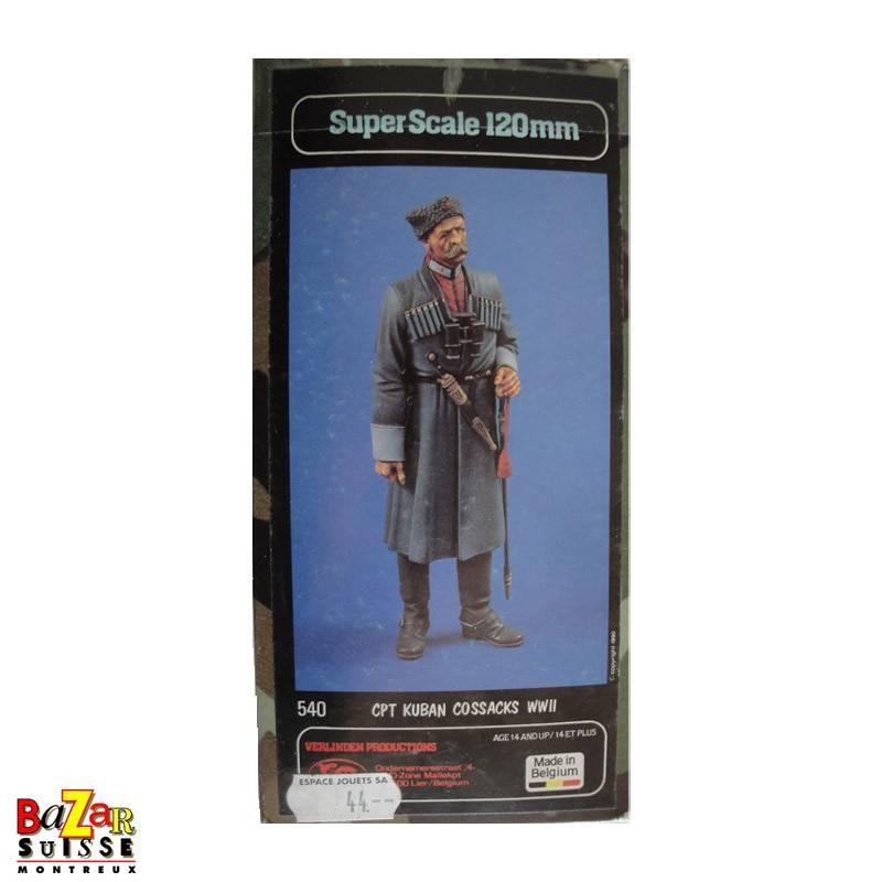 Cpt Kuban Cossacks WWII - Verlinden Figurine