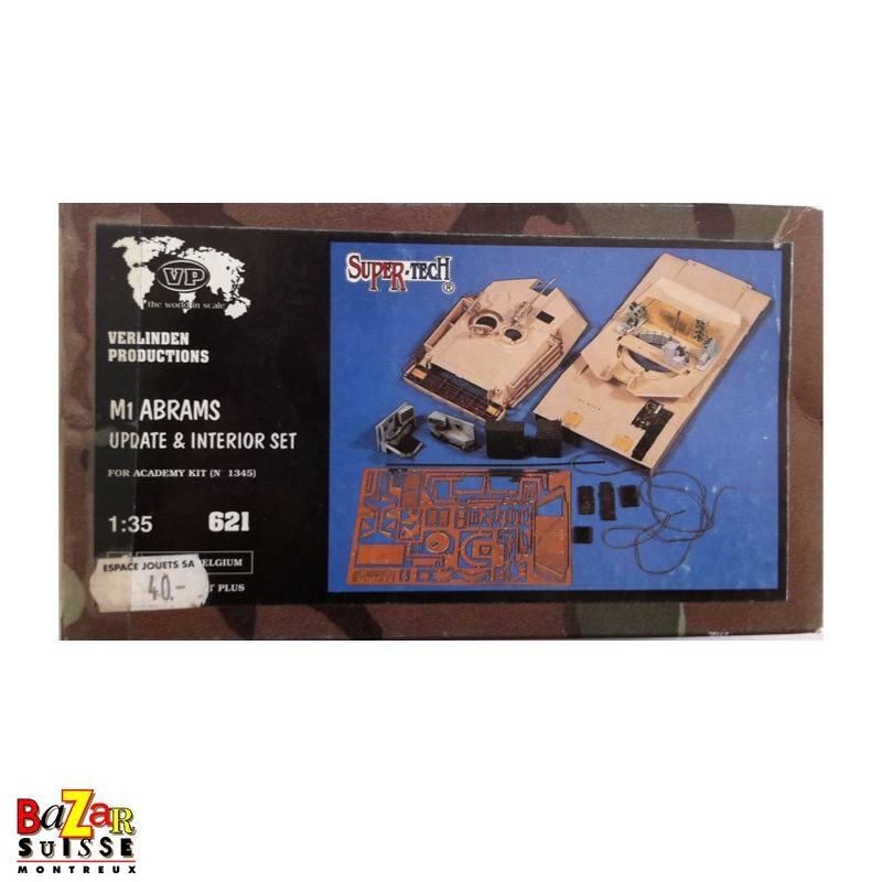 M1 Abrams update and interior set - Verlinden