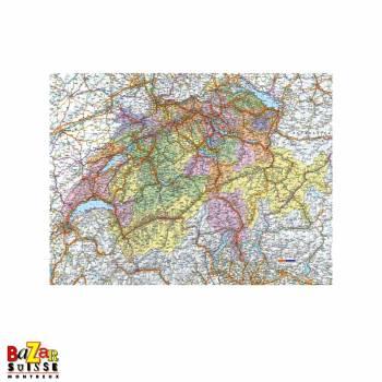 Carte de la Suisse - Puzzle Ravensburger