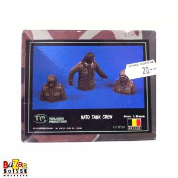 Nato Tank crew - figurine Verlinden