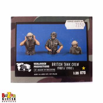 British Tank crew 1980/1990 - figurine Verlinden