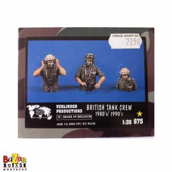 British Tank crew 1980/1990 - figurine Verlinden