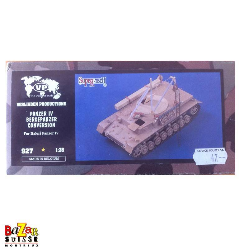 Panzer IV Bergepanzer - Conversion kit Verlinden