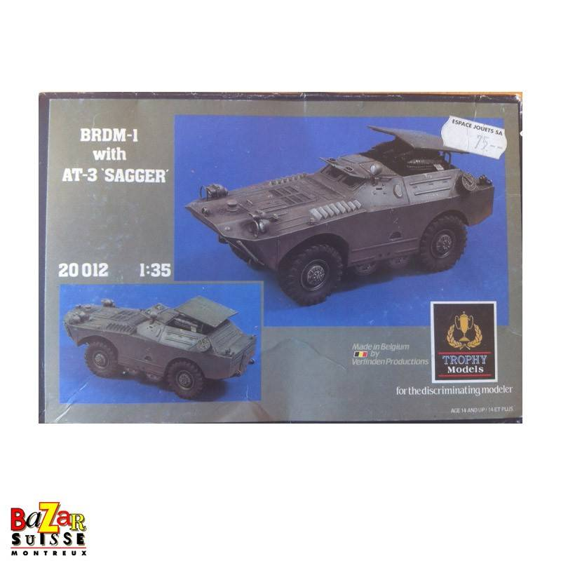 BRDM-1 with AT-3 sagger - Verlinden